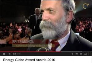 Youtube Energy Globe Award 2010